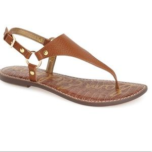 Sam Edelman Greta Soft Saddle Leather Sandal sz 9